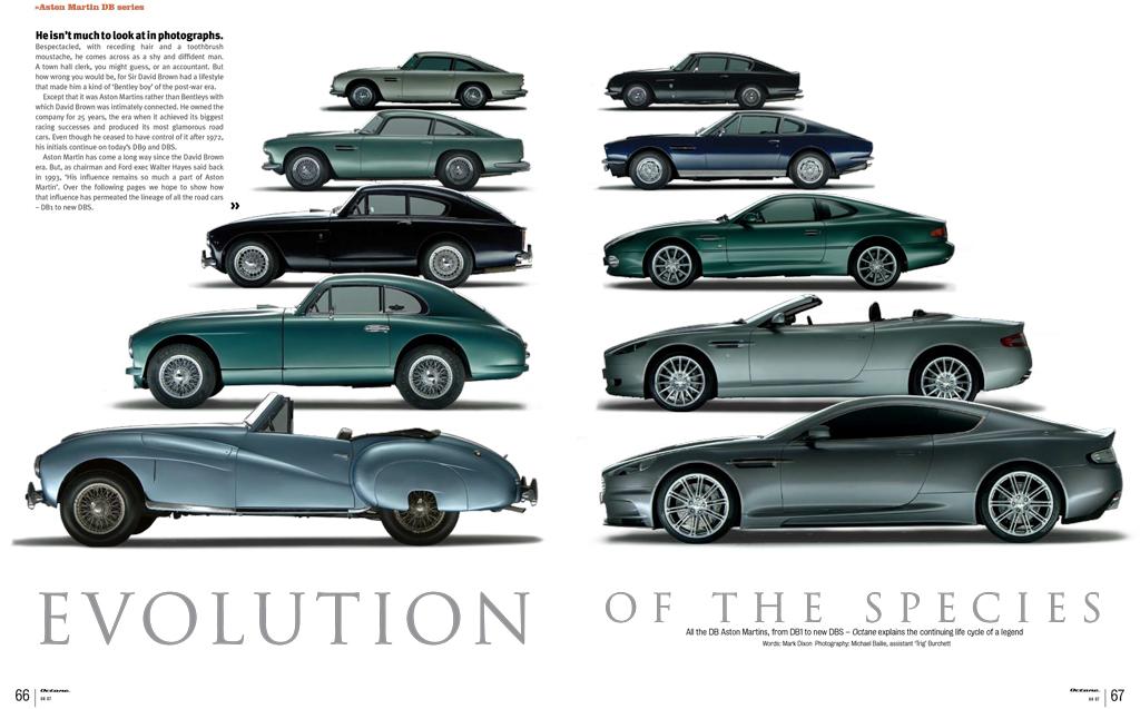 Aston Martin DB Feature Octane Magazine Michael Bailie - Aston martin db